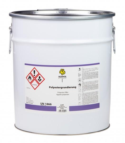 Rosner Polyestergrundierung weiß 25 kg