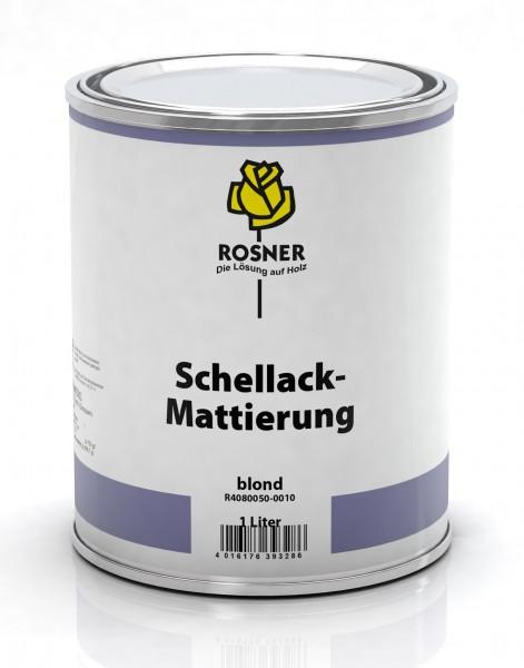 Rosner Schellackmattierung
