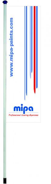 Mipa Fahne 4x 1,2m