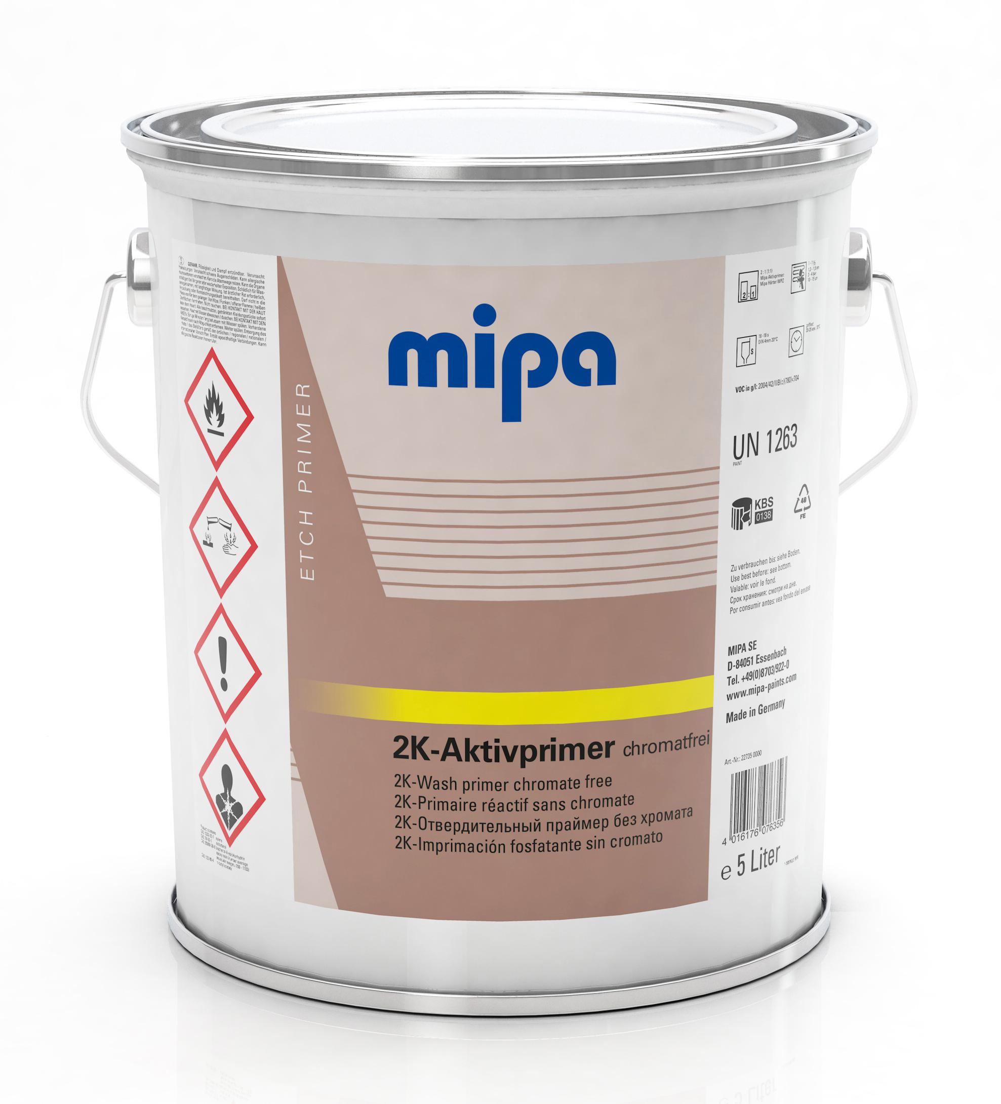 mipa aktivprimer 2 komponenten system grundierung f ller. Black Bedroom Furniture Sets. Home Design Ideas