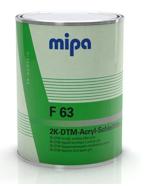Mipa 2K DTM Acryl Schleif Filler F63 grau 4L