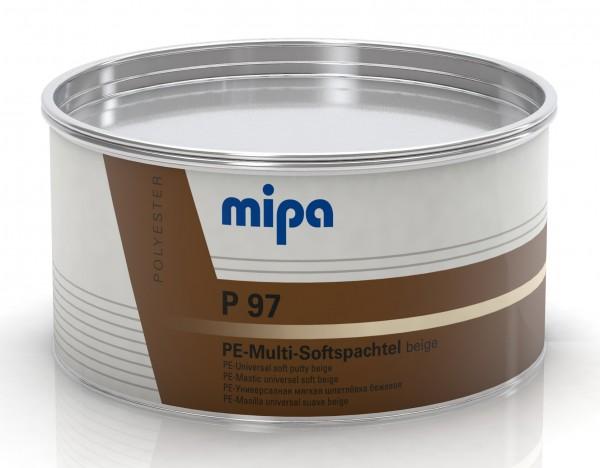 Mipa P 97 PE-Multi-Softspachtel inkl. Härter , Nur für Gewerbetreibende!