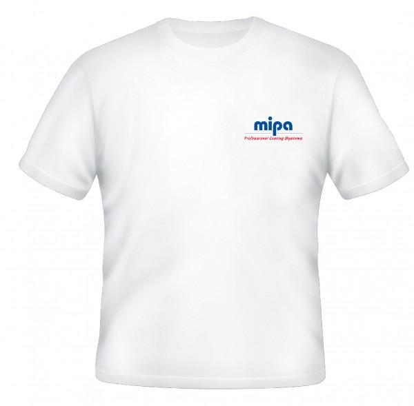 Mipa T-Shirt weiß