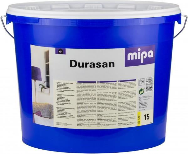 Mipa Durasan Innendispersionsfarbe 15 Liter Eimer