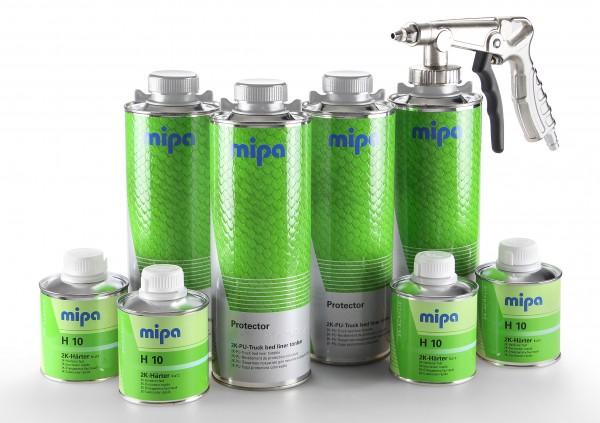 Mipa Protector Set 2k-PU-Transportflächen Beschichtungsset tönbar