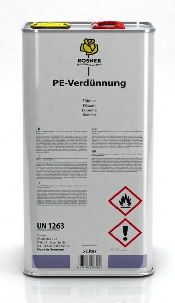 Rosner PE-Verdünnung